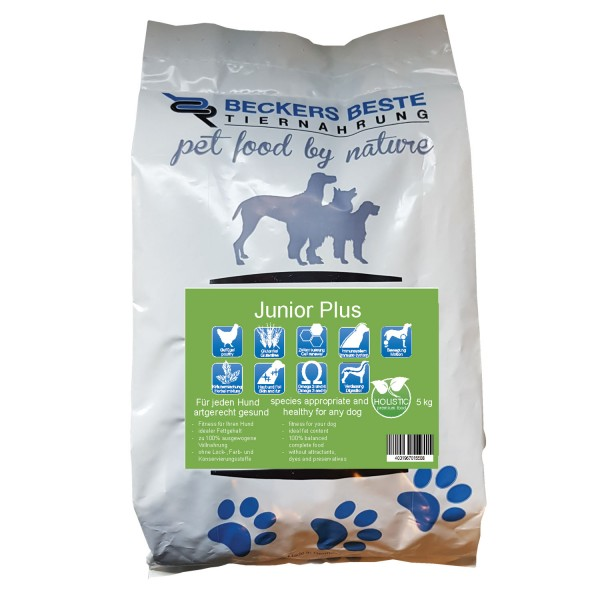 Premium Hundefutter Junior PLUS 5 kg