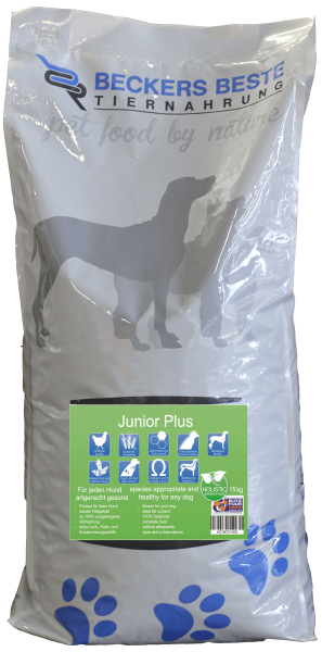 Premium Hundefutter Junior PLUS 15 kg